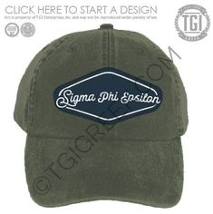a5041a5e TGI-Sigma Phi Epsilon Hat Design | Fraternity PR & Recruitment | Design  Library | TGI Greek