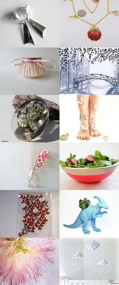 splashes of summer by Інна Козачук on Etsy--Pinned with TreasuryPin.com