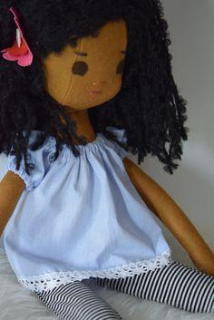 Doll Dressmaking Series: Phoebe in her new peasant top