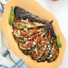 Roasted Eggplant Recipe on Pinterest | Eggplants, Oven Roast and ...