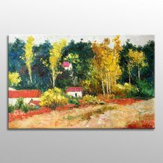 Autumn Landscape Painting, Birch Forest Oil #oilpainting #canvaspainting #abstractpainting #modernpainting #kitchenwallart #original #landscapepaintings #originalart #canvasart #landscapepainting #tuscanylandscape #floralfield Painting Edges, Oil Painting Abstract, Abstract Canvas, Oil On Canvas, Painting Canvas, Canvas Art, Impressionist Paintings, Landscape Paintings, Oil Paintings