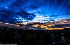 Sunrise over Concord, NC