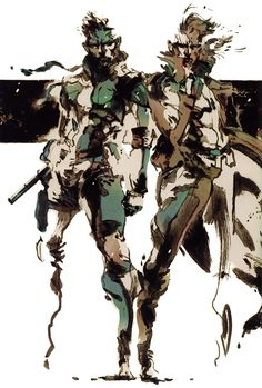 Metal Gear Solid - Solid & Liquid Snake
