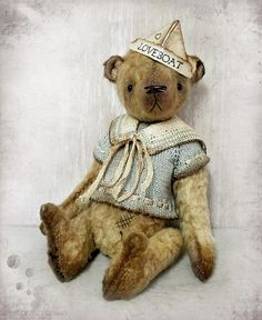 viscose teddy bear