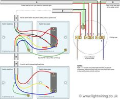 41b3a0460d69ca6fa68c9ac775708d19--circuit-diagram-colour-light  Way Switch Wiring Diagram New Colours on