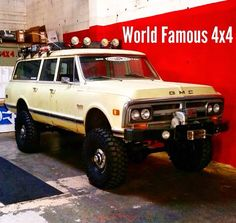 Another pic of the World Famous 4x4 Suburban.