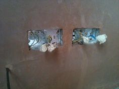 Nicely Plastered level sockets (Earthed)