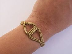 This bracelet was overwhelmed by the ancient Greek jewels. It was made knot after knot, using high quallity waxed threads! You can choose it if you are interested in ancient greeks history and wear it in any special occasion!! It has adjustable length so it can fit at any hand.