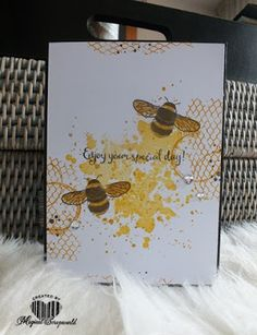 Magical Scrapworld: Enjoy your special day, cards, dragonfly dreams, ghoulish grunge, gorgeous grunge, Stampin' Up!, timeless textures