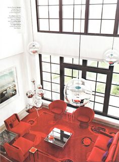 Doug & Gene Meyer interior featured in New York Magazine's Design Hunting by Wendy Goodman.