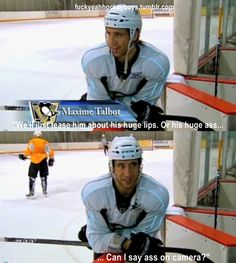 Max Talbot on Sidney Crosby. I have this documentary on DVD and I love it ❤️
