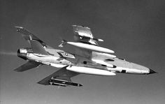 F-105G in flight on May 5, 1970. External stores include QRC-380 blisters, AGM-45 Shrike and AGM-78B Standard ARM.