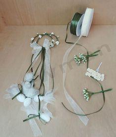 Στεφανάκι διπλό πράσινο! Crafts Beautiful, Wedding Favors, Buffet, Beautiful Pictures, Baby Shower, Home Decor, Christmas Ornaments, Craft, The Originals
