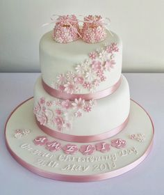 christening cake pictures | ... in Furness and the Lake District, Cumbria: Girls Christening Cake