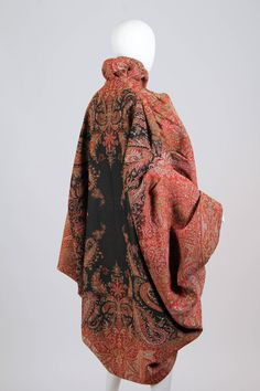 Victorian Paisley Cocoon Coat image 4