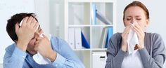 4 Ways Your Office Is Making You Sick & How to Fix It [Infographic]
