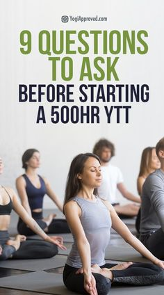 How do you know if you should take a 500 hour yoga teacher training? Consider these 9 questions before taking this giant leap in your yoga education! Qi Gong, Yoga Sequence For Beginners, Yoga Music, Partner Yoga, Yoga Teacher Training, Yoga For Weight Loss, Yoga Benefits, Yoga Everyday, Yoga Challenge