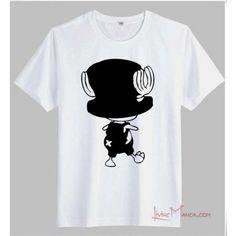Camisetas originales blancas de algodón de personajes de One Piece 18,30€ #LM #LivingManga