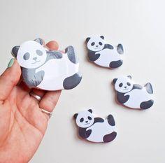 Panda Sticky Memo Pad at Omoi Zakka Shop