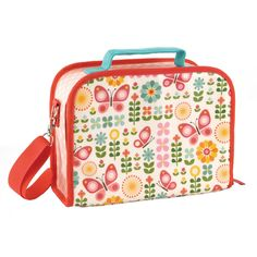 Super cute Butterflies lunch box by Petit Collage!  Featuring classic, vibrant patterns and eco-friendly materials these lunch boxes are perfect for packed lunches!    Little Boo-Teek - Butterflies Lunch Box Online | Kids Lunch Bags | Kids Gifts Online