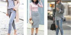 Outfits con color gris, ¡todo un básico de fondo de armario!