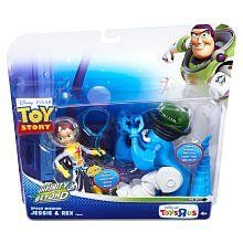 Disney / Pixar Toy Story Exclusive To Infinity And Beyond Space Mission Action Figure 2Pack Jessie Rex by Mattel. $28.94. Recommended Age: 3 years and up. Now your favorite characters from the Disney Pixars Toy Story films are outfitted for space and paired in two for twice the fun with this Toy Story Space Mission Action Figure 2Pack! All characters come decked out in spacethemed helmets and decos. The assortment features two exclusive, neverbeforeseen characters that include S...
