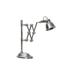 The Go Home Library Extender Lamp is a sturdy brass lamp in a versatile vintage steel finish. This lamp, which sits conveniently on a desk or table,. Industrial Lighting, Home Lighting, Studio Lighting, Vintage Wood, Vintage Industrial, Vintage Style, Industrial Table, Industrial Design, Cool Lamps