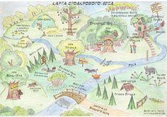 Карта Стоакрового леса