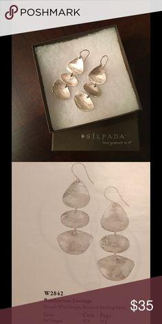Silpada earrings W2842 French wire drops Silpada Jewelry Earrings