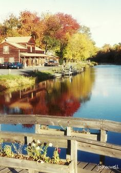 Erie Canal, Camillus. Two miles from where we live. Its a great park to have near by. This spot is about a quarter mile from the halfway point.