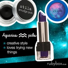 SHOP these products here: http://rubybox.co.za/concepts/zodiac?utm_source=pinterest.com/social&utm_medium=zodiac_board&utm_campaign=products_aquarius