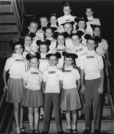 The Original Mickey Mouse Club!  The show aired before I was born, but I loved watching the re-runs.