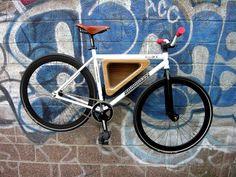 Bike rack + shelf = Small space awesomeness #greenvillebikecontest