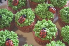 Please Rsvp S's Birthday / Lady Bug Birthday - Photo Gallery at Catch My Party Ladybug Picnic, Ladybug Party, Ladybug Cupcakes, Picnic Birthday, 9th Birthday Parties, Girl Birthday, Birthday Photos, Birthday Ideas, Party Like Its 1999