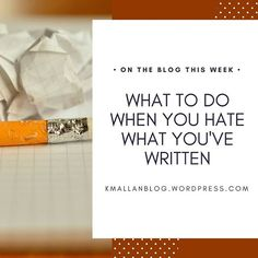 What do you do with the words you've been working on for years that you've recently come to realize you hate? Find out by reading this week's blog post. Link in bio.  .  .  .#blog #wordpress #writers#writing#writersofinstagram#youngadult#writingtruths#write#leapoffaith#writer#inspiration #youngadultbooks#writinglife#writingtips#author#yafiction#book#amwriting#authorsofinstagram #writinginspiration #whattodo
