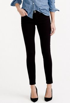 Black Toothpick Jean