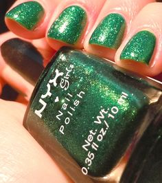 love this color with the sparkle!