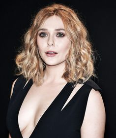 Elizabeth Olsen at the Tom Ford Collection Fashion Show