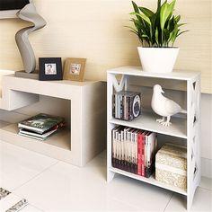 Home Decor Simple Style PVC Creative Sundries Shelf  Shoe Rack Children Small…