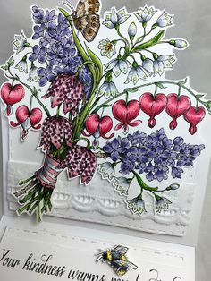 Just4FunCrafts: Bouquet For You!