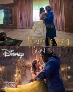 "50 Likes, 2 Comments - once upon a time (@this_is_how_it_happened) on Instagram: ""The live action Disney film of Beauty and Beast (@beautyandthebeast) starring Emma Watson…"""