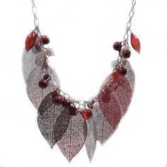Don't Leaf Me Hanging Necklace Project