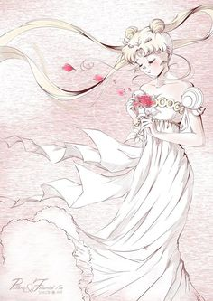 Sailor Moon by Pillara // Beautiful FanArt // Sailor Moons, Sailor Moon Manga, Sailor Moon Crystal, Sailor Moon Art, Sailor Pluto, Sailor Jupiter, Sailor Venus, Neo Queen Serenity, Princess Serenity