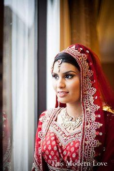 hair and makeup, bridal fashions http://maharaniweddings.com/gallery/photo/12990