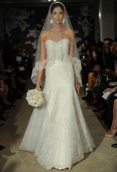 Abiti da sposa Carolina Herrera collezione 2015