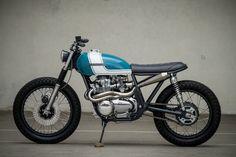 "Honda ""City Scrambler"" by J. Honda Cb750, Honda Scrambler, Cb550, Honda Bikes, Triumph Bobber, Cb 500 Cafe Racer, Cafe Racer Helmet, Cafe Racer Girl, Tracker Motorcycle"