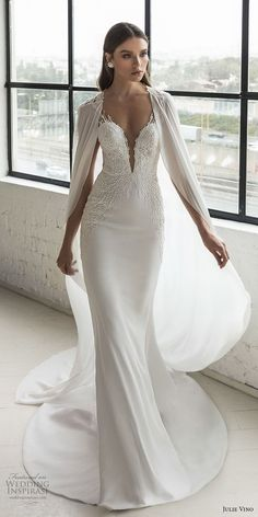 julie vino 2019 romanzo bridal sleeveless deep plunging sweetheart neckline  heavily embellished bodice romantic fit and. Svadobné Šaty ... 3d36010f851