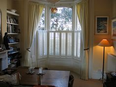 adorned abode: Privacy Treatments for Bay Windows