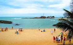 Praia das Castanheiras, Guarapari, Espírito Santo