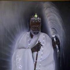 Obatala..beautiful expresion on his face...so calm